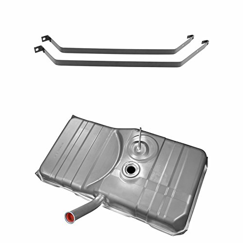 Fuel Gas Tank 21 Gallon w/Strap Kit Set for 78-81 Chevy Camaro Pontiac Firebird (Tank Camaro Fuel Strap)