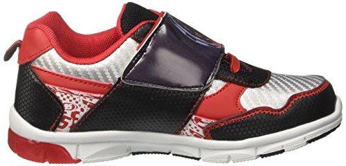 Disney Walt S18500I/AZ, Zapatillas Niños Multicolor (Rosso)