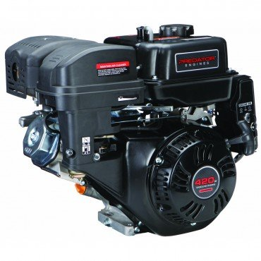 (Predator 14 HP 420cc OHV Horizontal Shaft Gas Engine - Certified for California; Fuel Shut Off and Recoil Start)