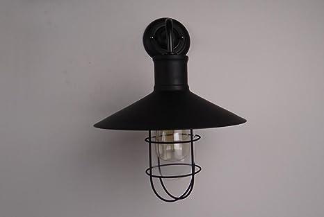 Kronleuchter Wand ~ Xbzz einfache industrielle wandleuchte retro industrie lampe