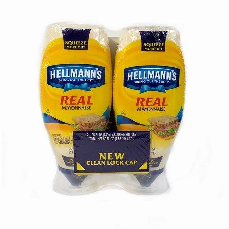 Hellmann's Real Mayonnaise, 50 Fluid Ounce by Hellmann's