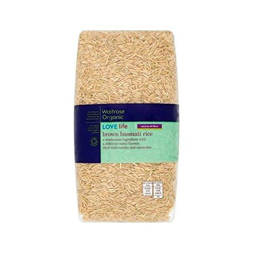 Organic Brown Basmati Rice Waitrose Love Life 1kg by WAITROSE