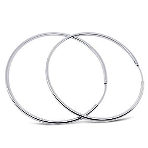 25mm Hoop 925 Sterling Silver