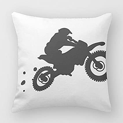 Amazon Motocross Pillow Case Cover Decorative Throw Pillows For Custom Pillow Case Covers For Throw Pillows