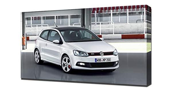 2010-Volkswagen-Polo-GTI-V1-1080 - Lienzo Decorativo para Pared ...