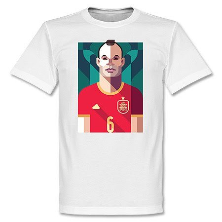 T Iniesta shirt De Playmaker Football H56ZAw5pxq