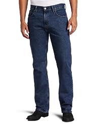 Levi\'s Men\'s 505 Regular Fit Jean, Dark Stonewash, 34x32