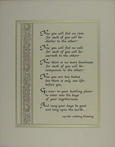 - Apache Wedding Blessing Marriage Gift
