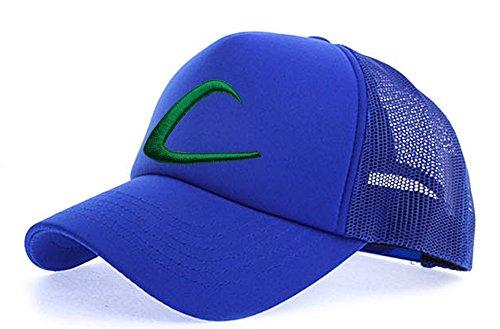 myglory77mall Sombrero de Animado para Hombre Todo Cobalto T1