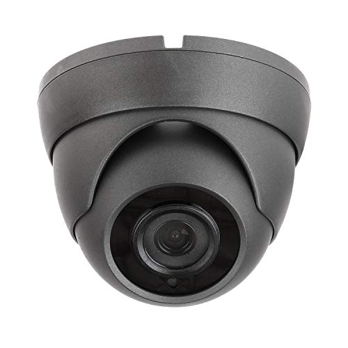 Sinis Super Hybrid 5MP 4MP 1080P HD-TVI/CVI/AHD/960H CCTV Surveillance Security Camera Day Night Vision Waterproof Outdoor/Indoor 3.6mm Fixed Lens Metal Dome Video System