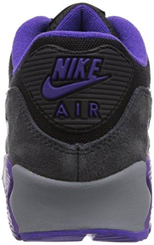 Nike Air Max 90 - Zapatillas para mujer Negro (Blk/Crt Prpl-Hypr Grp-Anthrct)