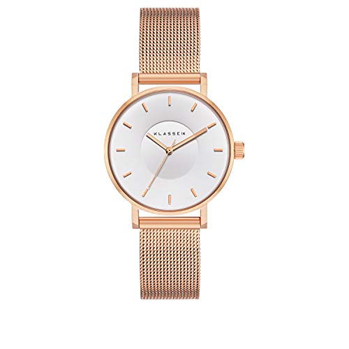 (Klasse14 Volare White Rose 36mm Mesh White Dial Women's Watch #VO18RG010W...)