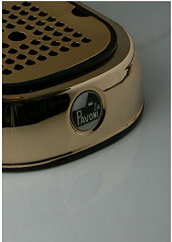 la Pavoni Europiccola ERG Independiente M/áquina espresso Oro 0,8 L 8 tazas Semi-autom/ática Independiente, M/áquina espresso, 0,8 L, De caf/é molido, 1000 W, Oro Cafetera