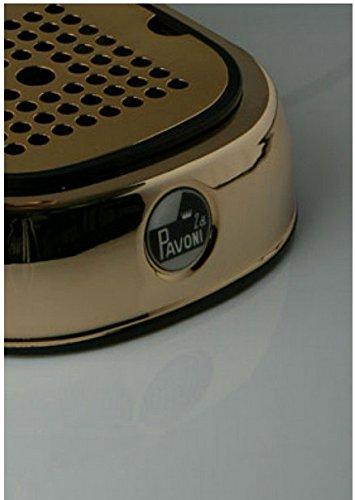 la Pavoni Europiccola ERG Independiente Máquina espresso Oro 0,8 L ...