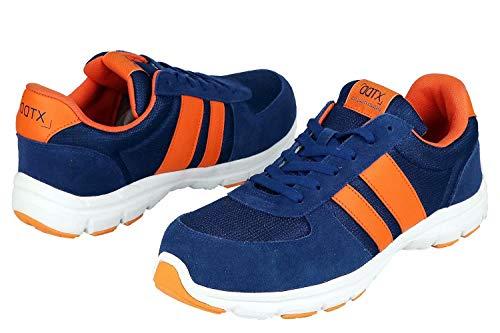 DDTX Safety Work Shoes Unisex SB Steel Toe Lightweight Breathable 13US Blue