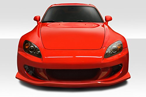 Duraflex AMS2 Front Bumper (w/integrated lip) - 1 Piece Body Kit - Fits Honda S2000-2000 2001 2002 2003 2004 2005 2006 2007 2008 2009 | 00 01 02 03 04 05 06 07 08 09 (ED-ZDS-904) 00 01 02 03 Hatch