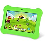 Zeepad Kids TABZ7 Android 4.4 Quad Core Five Point Multi Touch Tablet PC, 7, 4GB, Kids Edition, Green