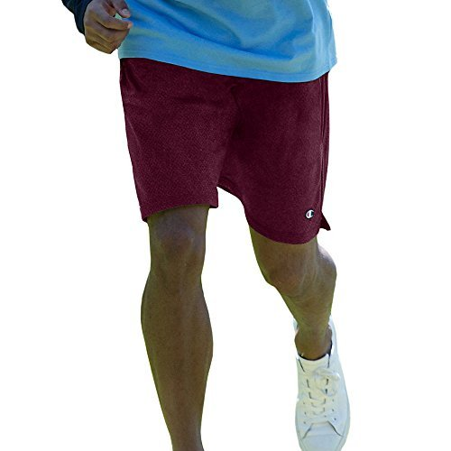 Champion Long Mesh Men's Shorts with Pockets,,Bordeaux Red,,3XL,2PK by Champion