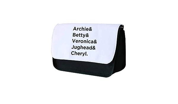 Archie, Betty, Veronica, JUGHEAD y Cheryl – Estuche de Riverdale: Amazon.es: Oficina y papelería