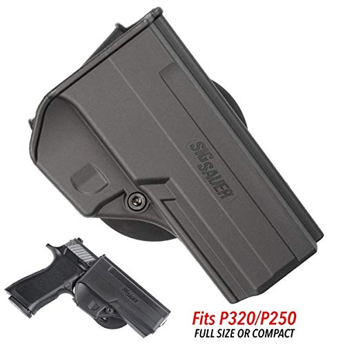SigTac 250 and 320 Holster for Full Size, Compact, and Carry Models P250 P320
