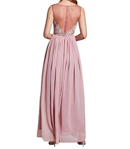 Brautmutterkleider Lilac Lang Damen A Festlichkleider Partykleider Abendkleider Charmant Linie Chiffon Spitze Ballkleider 6ZzxBq