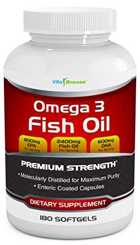 Omega Fish Oil Supplement Softgels product image