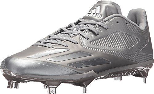 meet bdf41 05262 adidas Adizero Afterburner 3 E Cleat - Men s Baseball 11 Light Onix White