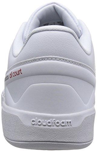 Tennis All conavy ftwwht Bianco Uomo Da Cf Court Scarpe Adidas Ftwwht scarle conavy scarle 1qfFXc