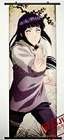 1 X Home Decor Naruto Hyuuga Hinata Cosplay Wall Scroll Poster 49.2 X 17.7 Inches-487 by CoSmile