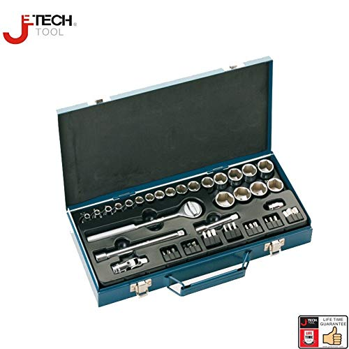 Best Tool Set Jetech 61pcs 3/8-inch Drive Metric Socket Wrench ...