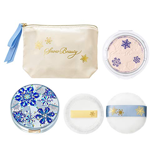 SHISEIDO Maquillage Snow Beauty Whitening Face Powder 2019 (With Refill)