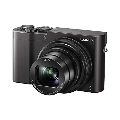 PANASONIC LUMIX ZS100 4K Point and Shoot Camera, 10X LEICA DC Vario-ELMARIT F2.8-5.9 Lens with Hybrid O.I.S., 20.1 Megapixels, 1 Inch High Sensitivity Sensor, 3 Inch LCD, DMC-ZS100K (USA BLACK)