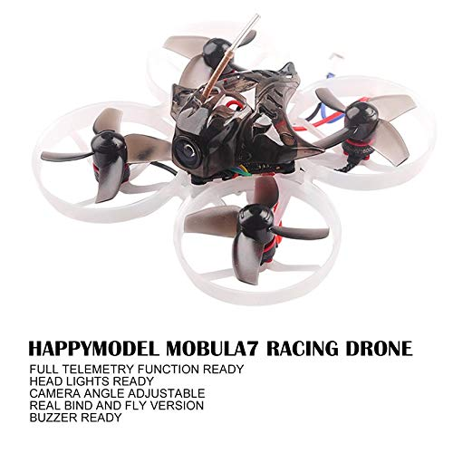 Wikiwand Happymodel Mobula7 75mm 2S Brushless Whoop FPV Racing Drone Standard Version by Wikiwand (Image #5)