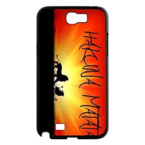 FOR Samsung Galaxy Note 2 Case -(DXJ PHONE CASE)-Best Wishes - Hakuna Matata Quotes-PATTERN 7