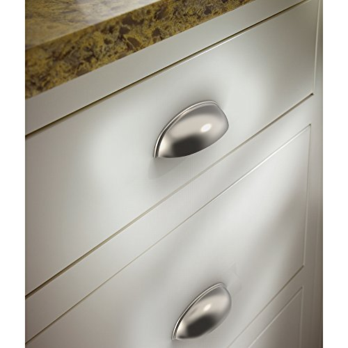 Franklin Brass P34702K-SN-B 3'' Contemporary Bin Cup Drawer Handle Pull, Satin Nickel, 10-Pack by Franklin Brass (Image #4)