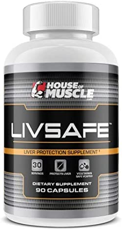LivSafe 90 Capsules – Liver Protection Supplement – Protect, Cleanse Detoxify Liver from Toxins, Chemicals Contaminants – Vegetarian Safe Capsules