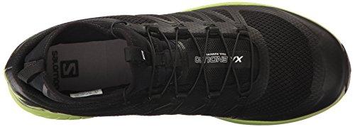 Salomon para de Black XA Enduro Hombre Green Running Zapatillas Negro Lime Black Trail 6rxZ6UqT
