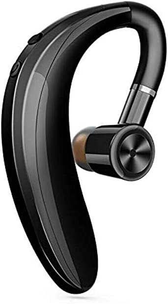 One76 Bluetooth Headset Compatible with iPhone and Android Wireless Bluetooth Earpiece V5.0Hands-Free Earphones with Noise Cancellation Mic Headphone for Driving//Business//Office