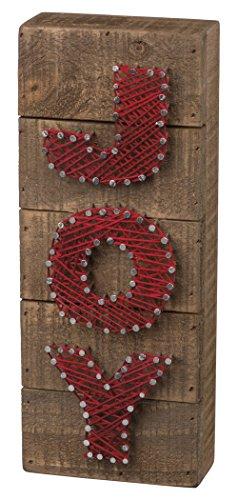 Christmas String Art (Primitives by Kathy Christmas String Art Box Sign,)