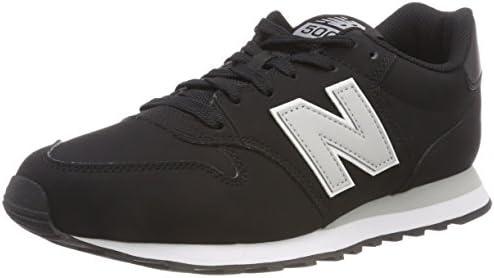 New Balance Men's 500 Trainers, Black