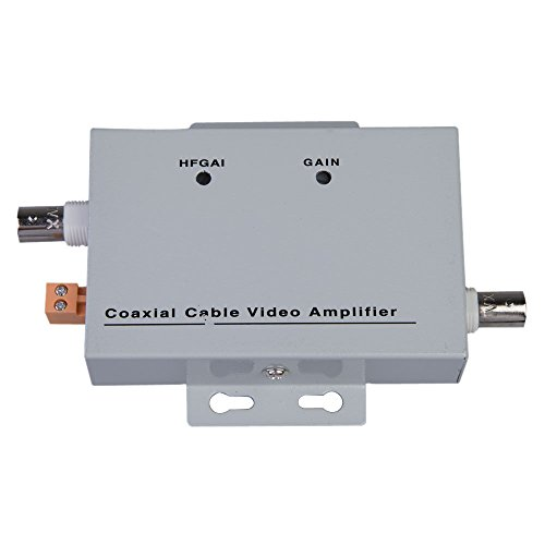XHTECH Coaxial Cable BNC Video Signal Amplifier Booster - Signal Booster Video