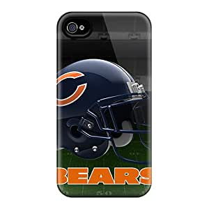 Great Hard Phone Covers For Iphone 6 (COZ12548HVKF) Allow Personal Design HD Chicago Bears Helmet 2 Pattern