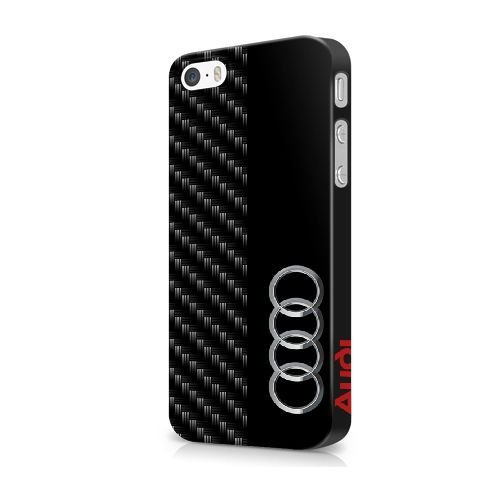 NOEL TINNEBERG SERIES Back Case for iPhone 5/iPhone 5s/iPhone SE - JFODHFLD53057 - (AUDI LOGO) THEME Hard Plastic Snap-On Case Skin Cover For iPhone 5/5s/SE