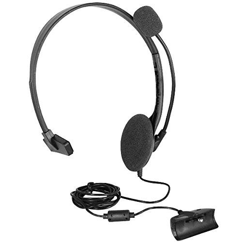 OSTENT Cuffie Cuffie Cuffie con microfono Compatibile per Microsoft Xbox 360  Live Game - Colore nero 0cc781857bba