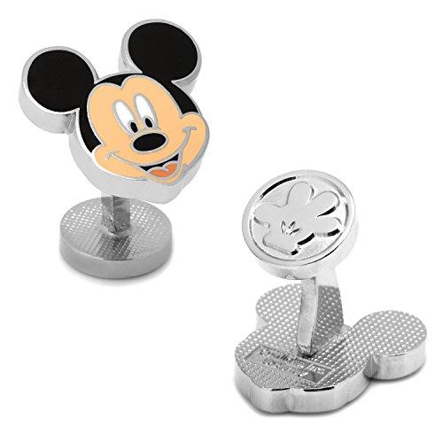 Disney Men's Mickey Mouse Smile Cufflinks (DN-MCKYH-SL)