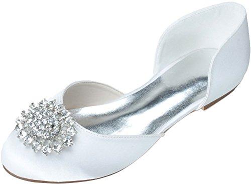 5 Compensées Blanc Sandales EU 36 Nice Femme Find Blanc 6nEwxq0Fg