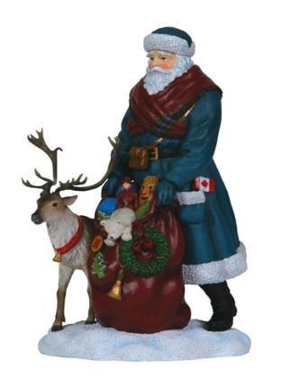 Pipka Canadian Santa - Memories of Christmas - Santa Christmas Pipka Figurines