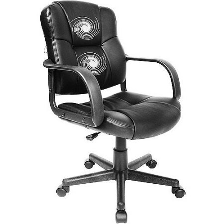 RelaxZen 2-Motor Medium Back Leather Office,Gaming Massage Chair
