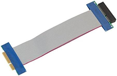 JXSZ PCI Express PCI-E 4X Adapter Riser Card 90 Degree for 1U//2U Server Chassis