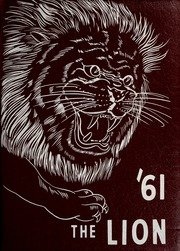 (Custom Reprint) Yearbook: 1961 East Mississippi Community College - Lion Yearbook (Scooba, MS)